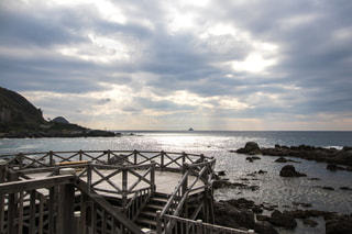 赤崎遊歩道からの風景の写真・画像素材[2479250]