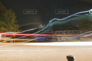 ヘッドライトテールの写真・画像素材[2725036]