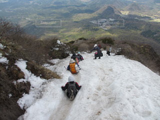 大山5月山頂付近の写真・画像素材[2472429]