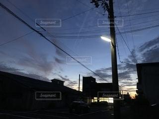 夕暮れの写真・画像素材[2480253]