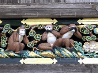 三猿の写真・画像素材[2476582]