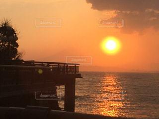 江ノ島の夕暮れの写真・画像素材[2477356]
