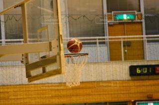 バスケ・ゴールの写真・画像素材[2644944]