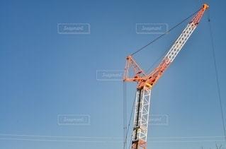 タワー クレーンの写真・画像素材[2731609]
