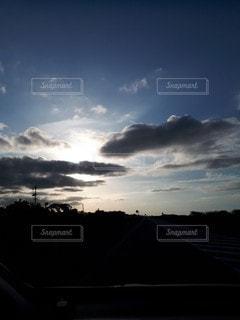 北海道の夕暮れ3の写真・画像素材[2512033]