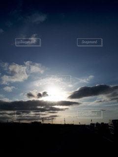 北海道の夕暮れの写真・画像素材[2512032]