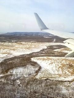 着陸間際の写真・画像素材[2483116]