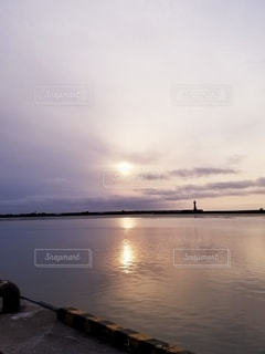 釧路の夕暮れの写真・画像素材[2584361]