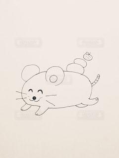 走るネズミちゃんの写真・画像素材[2642330]
