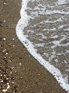 波打ち際の写真・画像素材[2686811]