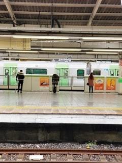 駅のホームの写真・画像素材[2746438]