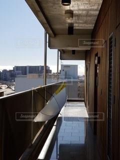 建物の通路の写真・画像素材[2773682]