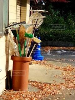 清掃道具の写真・画像素材[2802169]
