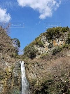 箕面公園の滝の写真・画像素材[2965177]