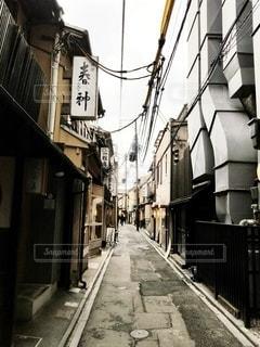 京都先斗町の風景の写真・画像素材[2972321]