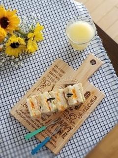 昼食のサンドイッチの写真・画像素材[3107825]