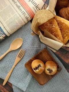 大好きなパンを撮りましたの写真・画像素材[3337514]