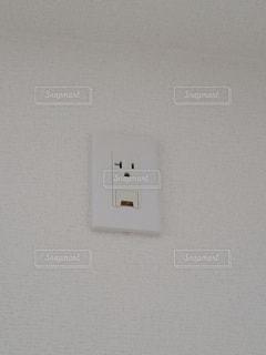 エアコンのコンセントの写真・画像素材[3340490]