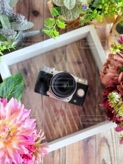 お気に入りのカメラを撮りましたの写真・画像素材[3591166]