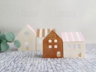 家の模型の写真・画像素材[3938900]