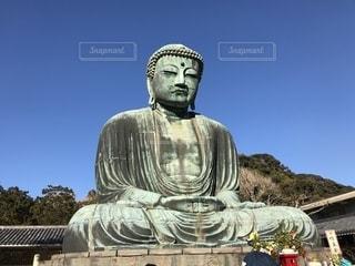 鎌倉大仏の写真・画像素材[2654585]