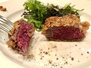イタリアンレストランでディナーの写真・画像素材[2483771]