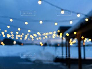冬のあかりの写真・画像素材[2484137]