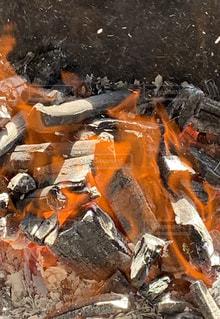 窯の火の写真・画像素材[2485928]