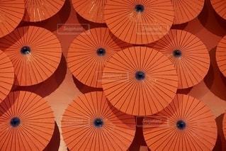 和傘のアートの写真・画像素材[2661988]