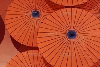 和傘のアートの写真・画像素材[2661989]