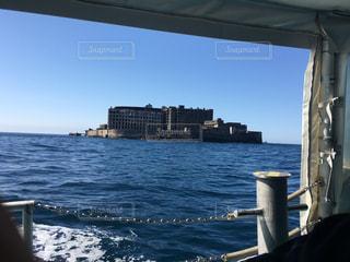 軍艦島へ向かうフェリーの写真・画像素材[2491883]