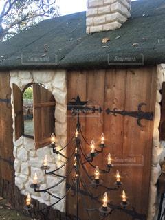 発泡スチロールの小屋の写真・画像素材[2729754]