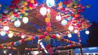 盆踊り祭りの写真・画像素材[2489393]