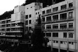 潰れた料理旅館の写真・画像素材[2646219]