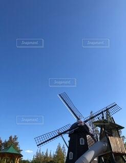 風車の写真・画像素材[2697806]