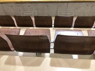 体育館の座席の写真・画像素材[2713282]