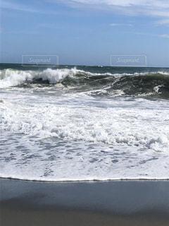 波 その2の写真・画像素材[2717328]