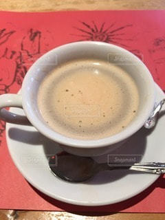 食後の一杯の写真・画像素材[95921]
