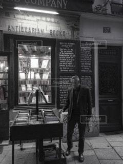 Gentleman in Paris.の写真・画像素材[2511968]