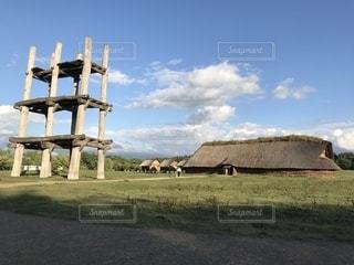 三内丸山遺跡の写真・画像素材[2491979]