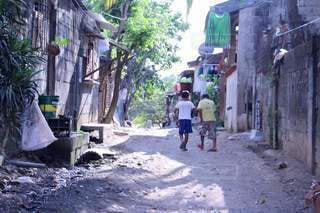 フィリピンの路地裏の写真・画像素材[2652303]