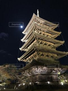 東寺ライトアップの写真・画像素材[2496567]