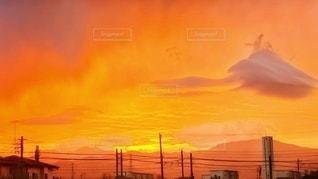孫悟空の筋斗雲みたいな雲です。の写真・画像素材[2659018]