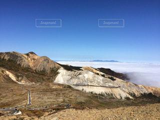 岩山のクローズアップの写真・画像素材[2496109]