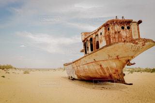 船の墓場の写真・画像素材[2497519]