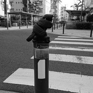 街の通りの写真・画像素材[2931309]