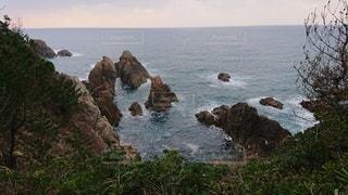 冬の日本海の写真・画像素材[2500235]