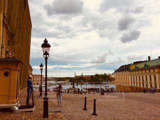 ストックホルム宮殿にて。の写真・画像素材[2501025]