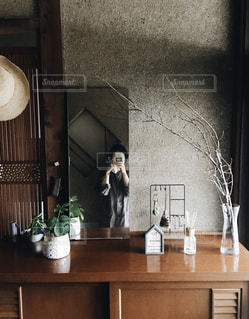 玄関の写真・画像素材[2829102]