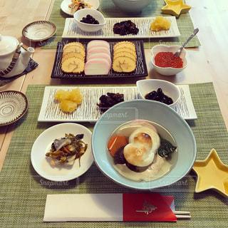元旦の朝食のお雑煮 - No.938780
